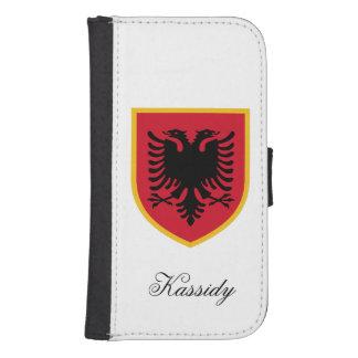 Albania Flag Galaxy S4 Wallet