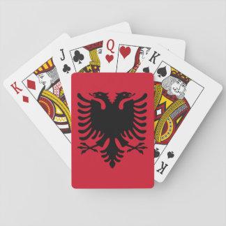 Albania Flag Poker Cards