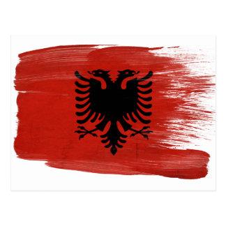 Albania Flag Postcards