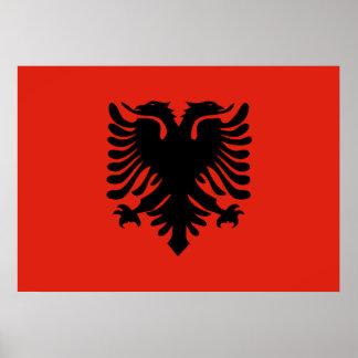 Albania Flag Poster