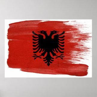 Albania Flag Posters