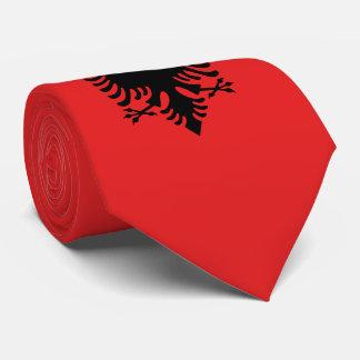 Albania Flag Tie