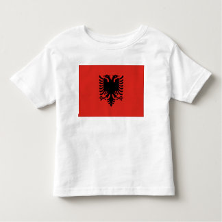 Albania Flag Toddler T-shirt