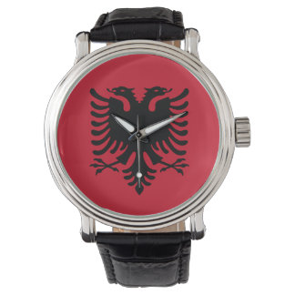 Albania Flag Wristwatch