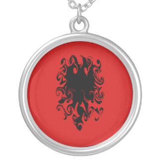 Albania Gnarly Flag Custom Jewelry