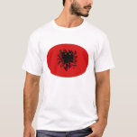 Albania Gnarly Flag T-Shirt