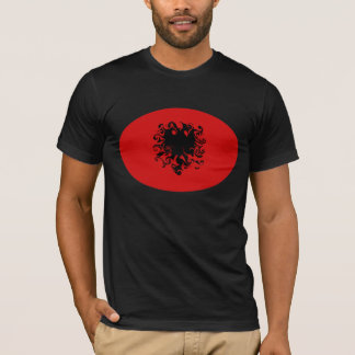 Albania Gnarly Flag T-Shirt