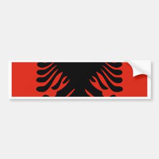 Albania High quality Flag Car Bumper Sticker
