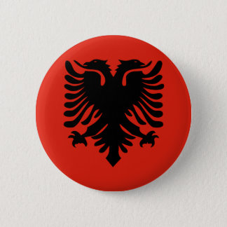 Albania High quality Flag Button