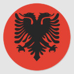 Albania High quality Flag Stickers