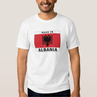 Albania hizo adentro remeras