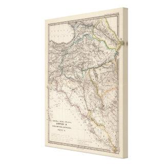 Albania, Iberia, Colchis, Armenia, Mesopotamia Canvas Print
