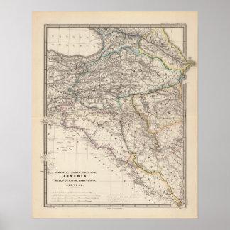 Albania, Iberia, Colchis, Armenia, Mesopotamia Poster
