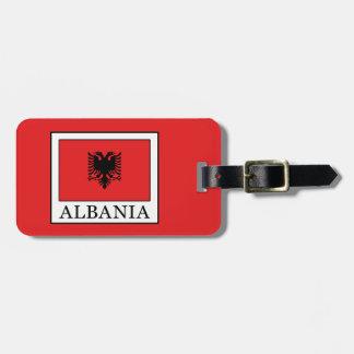 Albania Luggage Tag