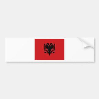 Albania National Flag Bumper Sticker