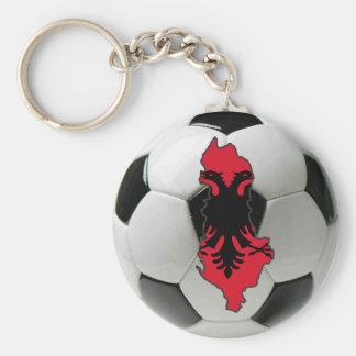 Albania national team basic round button keychain