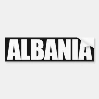 Albania Pegatina Para Auto