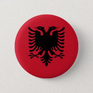 albania pinback button