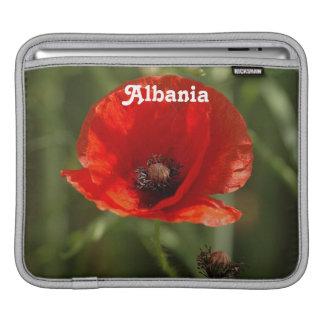 Albania Poppy iPad Sleeve