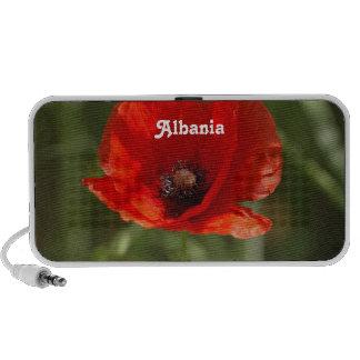 Albania Poppy Mp3 Speakers