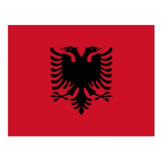 albania postcard