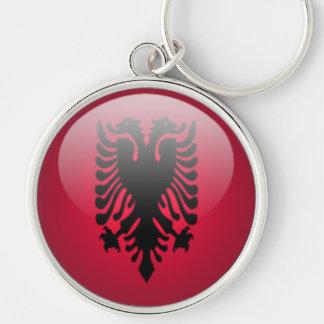 Albania - Premium Round Keychain