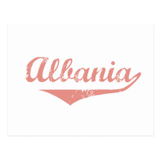 Albania Revolution Style Postcard