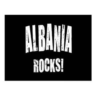 Albania Rocks! Postcard