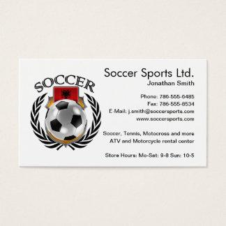 Albania Soccer 2016 Fan Gear Business Card