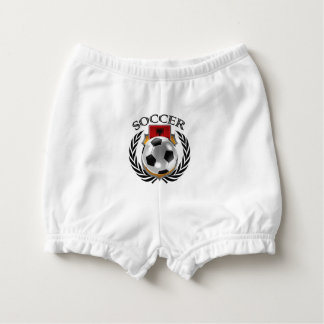 Albania Soccer 2016 Fan Gear Diaper Cover