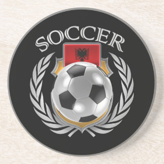 Albania Soccer 2016 Fan Gear Drink Coaster