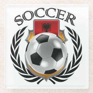 Albania Soccer 2016 Fan Gear Glass Coaster