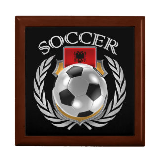 Albania Soccer 2016 Fan Gear Jewelry Box