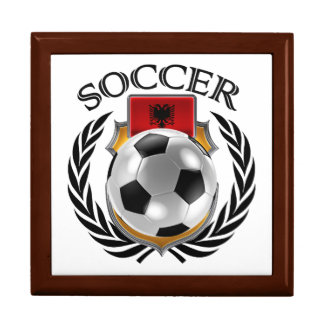 Albania Soccer 2016 Fan Gear Keepsake Box