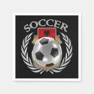 Albania Soccer 2016 Fan Gear Paper Napkin