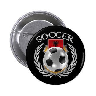 Albania Soccer 2016 Fan Gear Pinback Button