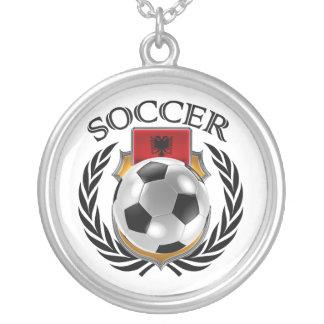Albania Soccer 2016 Fan Gear Silver Plated Necklace