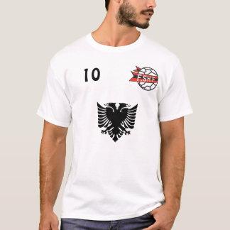 Albania Soccer Shirt T-Shirt Number 10
