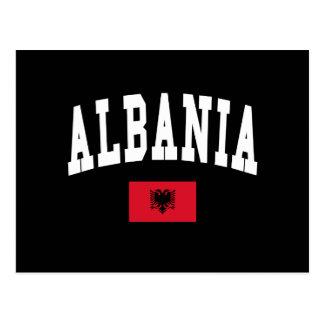 Albania Style Postcard