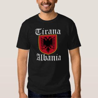 Albania Tirana Coat of Arms T-shirt