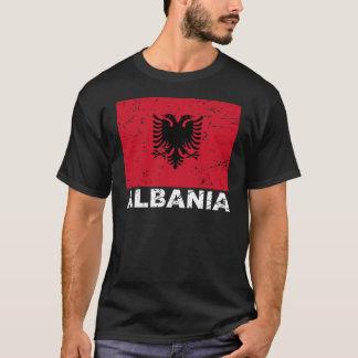 Albania Vintage Flag T-Shirt