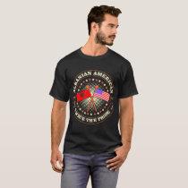 Albanian American Country Twice The Pride Tshirt