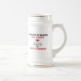 ALBANIAN CHEFS COFFEE MUGS