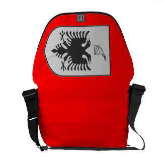 Albanian Coat of Arms Courier Bag