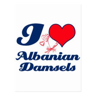 Albanian design postcard