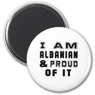 ALBANIAN DESIGNS 2 INCH ROUND MAGNET
