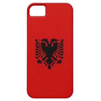 Albanian Eagle (Black on Red) iPhone 5 Case