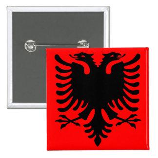 Albanian Eagle Button
