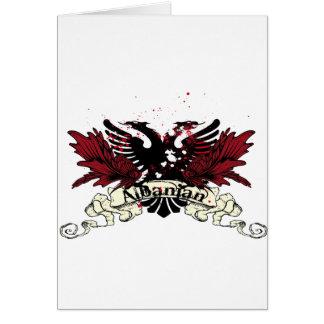albanian eagle card