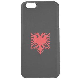 Albanian eagle clear iPhone 6 plus case